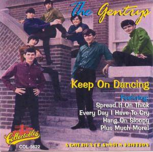 Cover - Gentrys, The: Keep On Dancing - A Golden Classics Edition
