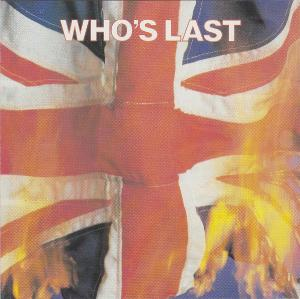 Who, The: Who's Last - Cover