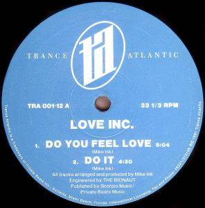 Cover - Love Inc.: Do You Feel Love