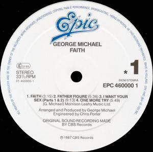 George Michael: Faith (LP) - Bild 3