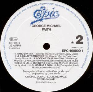 George Michael: Faith (LP) - Bild 4