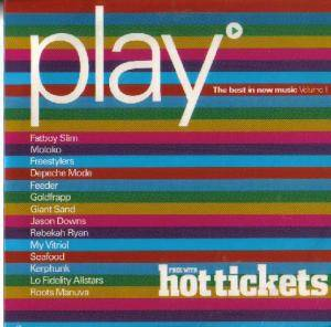 Cover - Jason Downs: Hot Tickets: Play »  Best In New Music Vol. 1