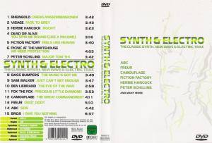 Synth & Electro - The Classic Synth, New Wave & Electric Trax (DVD) - Bild 2