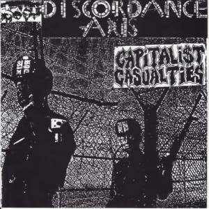 Capitalist Casualties: Discordance Axis/Capitalist Casualties - Cover