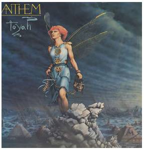 Toyah: Anthem - Cover
