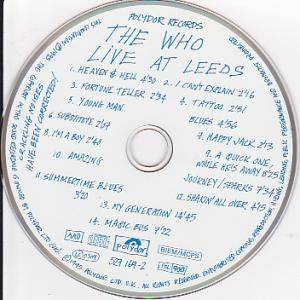 The Who: Live At Leeds (CD) - Bild 3