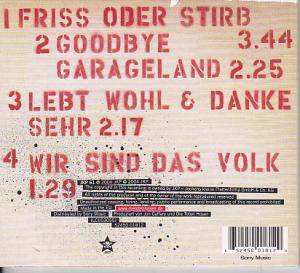Die Toten Hosen: Friss Oder Stirb (Single-CD) - Bild 4