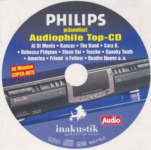 Cover - David Olney: Audiophile Top-CD