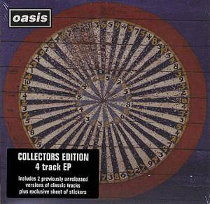 Oasis: Stop The Clocks EP - Cover