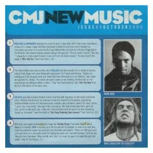 CMJ - New Music Volume 086 - Cover