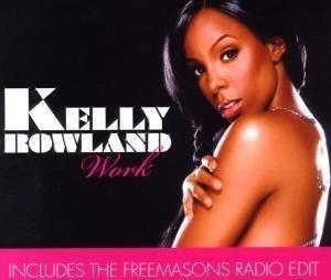 Kelly Rowland: Work - Cover