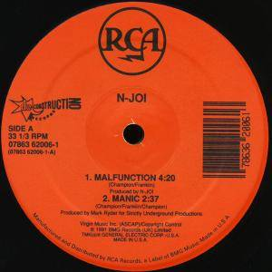 Cover - N-Joi: Malfunction