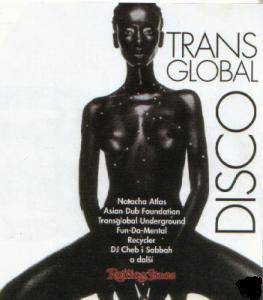 Transglobal Disco - Cover