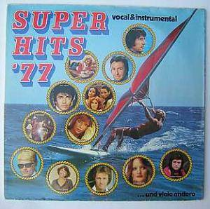 Super Hits '77 - Cover