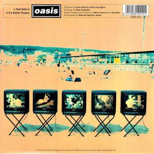 "Oasis: Roll With It (7"") - Bild 2"