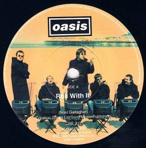 "Oasis: Roll With It (7"") - Bild 3"