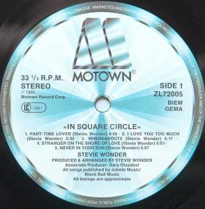 Stevie Wonder: In Square Circle (LP) - Bild 5