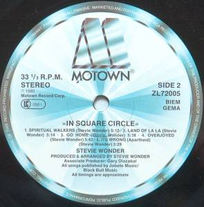 Stevie Wonder: In Square Circle (LP) - Bild 6