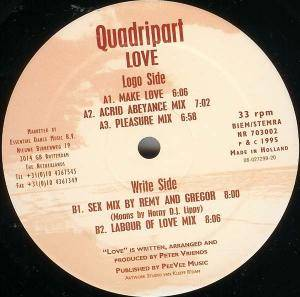Cover - Quadripart: Love