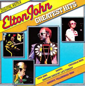 Elton John: Greatest Hits - Digital Remix - Cover