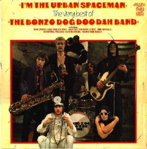 Cover - Bonzo Dog Doo-Dah Band: I'm The Urban Spaceman