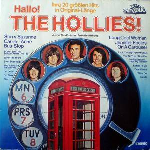 The Hollies: Hallo! The Hollies! - Cover