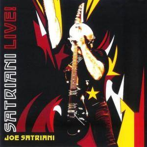 Joe Satriani: Live! - Cover