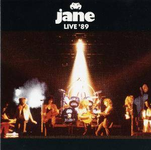 Jane: Live '89 - Cover