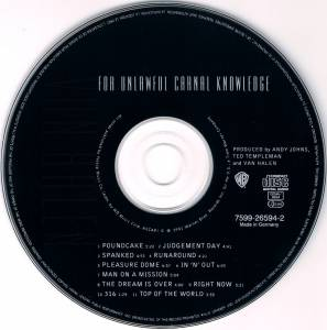 Van Halen: For Unlawful Carnal Knowledge (CD) - Bild 4