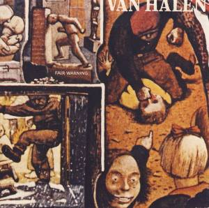 Cover - Van Halen: Fair Warning