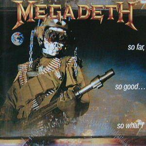 Megadeth: So Far, So Good... So What! - Cover