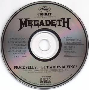 Megadeth: Peace Sells... But Who's Buying? (CD) - Bild 3