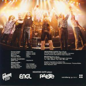 Heavens Gate: Live For Sale! (CD) - Bild 2