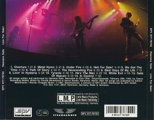 Heavens Gate: Live For Sale! (CD) - Bild 3