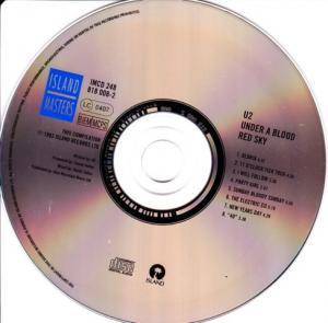 U2: Under A Blood Red Sky (CD) - Bild 3