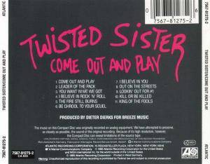 Twisted Sister: Come Out And Play (CD) - Bild 2