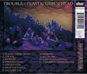 Trouble: Plastic Green Head (CD) - Bild 4
