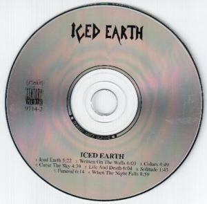 Iced Earth: Iced Earth (CD) - Bild 2