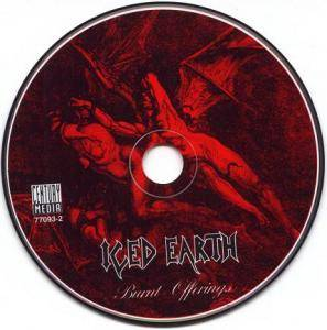 Iced Earth: Burnt Offerings (CD) - Bild 3