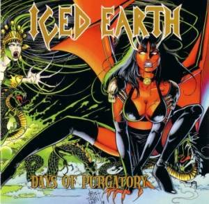 Iced Earth: Days Of Purgatory - Cover