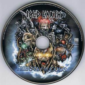 Iced Earth: Tribute To The Gods (CD) - Bild 4