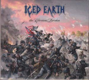 Iced Earth: Glorious Burden, The - Cover