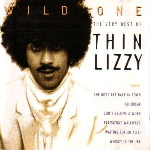 Thin Lizzy: Wild One - The Very Best Of Thin Lizzy - Cover