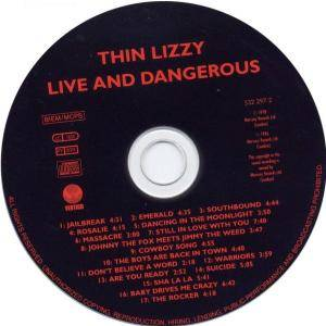 Thin Lizzy: Live And Dangerous (CD) - Bild 3