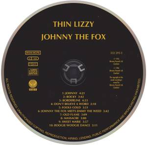 Thin Lizzy: Johnny The Fox (CD) - Bild 3