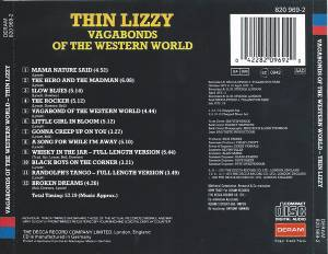 Thin Lizzy: Vagabonds Of The Western World (CD) - Bild 2