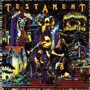 Testament: Live At The Fillmore - Cover
