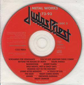 Judas Priest: Metal Works '73-'93 (2-CD) - Bild 5