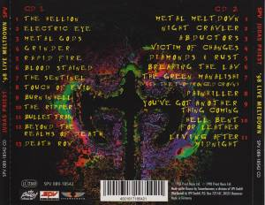 Judas Priest: '98 Live Meltdown (2-CD) - Bild 3