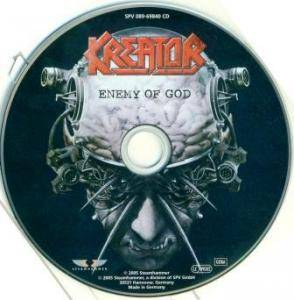Kreator: Enemy Of God (CD + DVD) - Bild 4